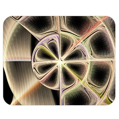 Background With Fractal Crazy Wheel Double Sided Flano Blanket (medium)