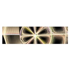 Background With Fractal Crazy Wheel Satin Scarf (Oblong)