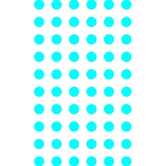 Polka Dot Blue White 5 5  X 8 5  Notebooks