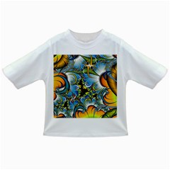 High Detailed Fractal Image Background With Abstract Streak Shape Infant/toddler T Shirts