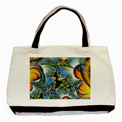 High Detailed Fractal Image Background With Abstract Streak Shape Basic Tote Bag