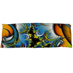 High Detailed Fractal Image Background With Abstract Streak Shape Body Pillow Case Dakimakura (Two Sides)
