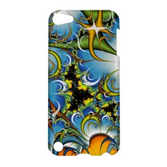 High Detailed Fractal Image Background With Abstract Streak Shape Apple iPod Touch 5 Hardshell Case