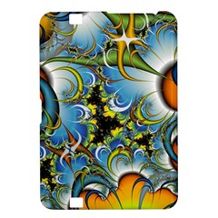 High Detailed Fractal Image Background With Abstract Streak Shape Kindle Fire HD 8.9