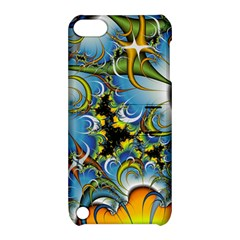 High Detailed Fractal Image Background With Abstract Streak Shape Apple iPod Touch 5 Hardshell Case with Stand
