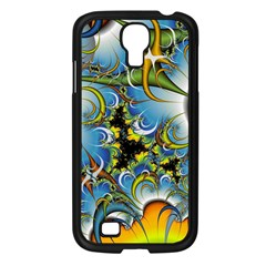 High Detailed Fractal Image Background With Abstract Streak Shape Samsung Galaxy S4 I9500/ I9505 Case (Black)