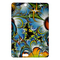 High Detailed Fractal Image Background With Abstract Streak Shape Amazon Kindle Fire HD (2013) Hardshell Case