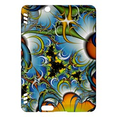 High Detailed Fractal Image Background With Abstract Streak Shape Kindle Fire HDX Hardshell Case