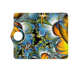 High Detailed Fractal Image Background With Abstract Streak Shape Kindle Fire HDX 8.9  Flip 360 Case