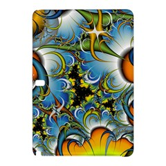 High Detailed Fractal Image Background With Abstract Streak Shape Samsung Galaxy Tab Pro 12.2 Hardshell Case