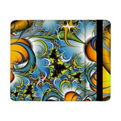 High Detailed Fractal Image Background With Abstract Streak Shape Samsung Galaxy Tab Pro 8 4  Flip Case