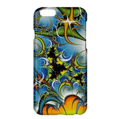 High Detailed Fractal Image Background With Abstract Streak Shape Apple iPhone 6 Plus/6S Plus Hardshell Case