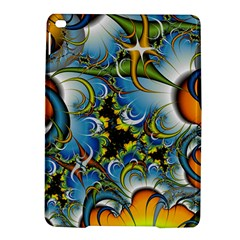 High Detailed Fractal Image Background With Abstract Streak Shape iPad Air 2 Hardshell Cases