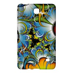 High Detailed Fractal Image Background With Abstract Streak Shape Samsung Galaxy Tab 4 (8 ) Hardshell Case