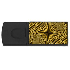 Fractal Golden River USB Flash Drive Rectangular (4 GB)