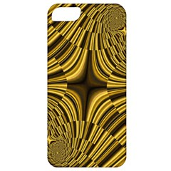 Fractal Golden River Apple iPhone 5 Classic Hardshell Case