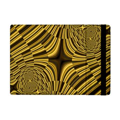 Fractal Golden River Apple iPad Mini Flip Case
