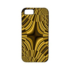 Fractal Golden River Apple iPhone 5 Classic Hardshell Case (PC+Silicone)