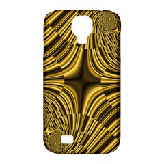 Fractal Golden River Samsung Galaxy S4 Classic Hardshell Case (PC+Silicone)