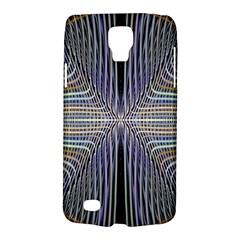 Color Fractal Symmetric Wave Lines Galaxy S4 Active