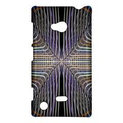 Color Fractal Symmetric Wave Lines Nokia Lumia 720