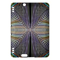 Color Fractal Symmetric Wave Lines Kindle Fire HDX Hardshell Case