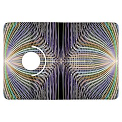 Color Fractal Symmetric Wave Lines Kindle Fire Hdx Flip 360 Case