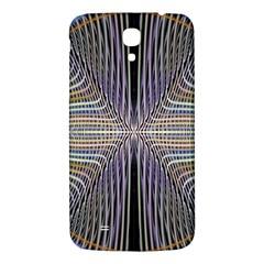 Color Fractal Symmetric Wave Lines Samsung Galaxy Mega I9200 Hardshell Back Case