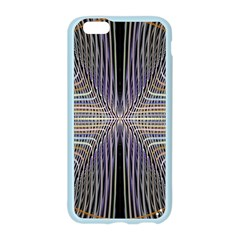 Color Fractal Symmetric Wave Lines Apple Seamless iPhone 6/6S Case (Color)