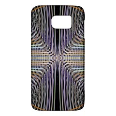 Color Fractal Symmetric Wave Lines Galaxy S6