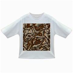Fractal Background Mud Flow Infant/toddler T Shirts