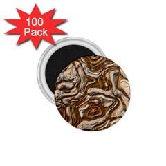 Fractal Background Mud Flow 1 75  Magnets (100 Pack)