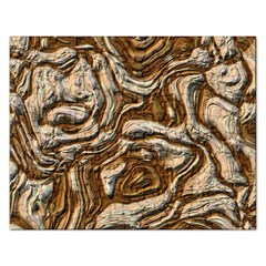 Fractal Background Mud Flow Rectangular Jigsaw Puzzl