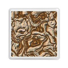 Fractal Background Mud Flow Memory Card Reader (square)