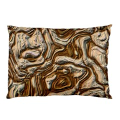 Fractal Background Mud Flow Pillow Case (two Sides)