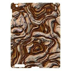 Fractal Background Mud Flow Apple iPad 3/4 Hardshell Case