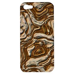 Fractal Background Mud Flow Apple iPhone 5 Hardshell Case