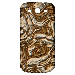 Fractal Background Mud Flow Samsung Galaxy S3 S III Classic Hardshell Back Case