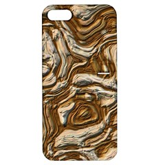 Fractal Background Mud Flow Apple iPhone 5 Hardshell Case with Stand
