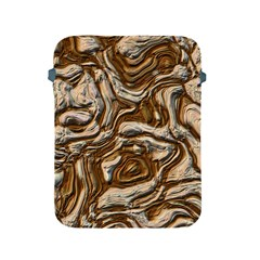 Fractal Background Mud Flow Apple iPad 2/3/4 Protective Soft Cases