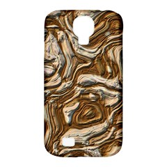 Fractal Background Mud Flow Samsung Galaxy S4 Classic Hardshell Case (PC+Silicone)