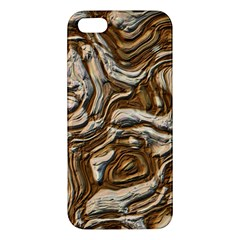 Fractal Background Mud Flow iPhone 5S/ SE Premium Hardshell Case