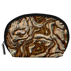 Fractal Background Mud Flow Accessory Pouches (large)