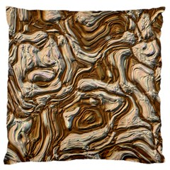 Fractal Background Mud Flow Standard Flano Cushion Case (Two Sides)