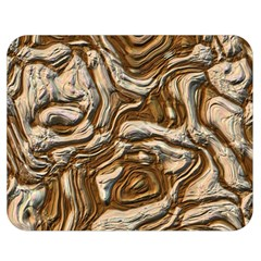 Fractal Background Mud Flow Double Sided Flano Blanket (medium)