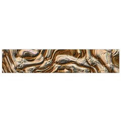 Fractal Background Mud Flow Flano Scarf (Small)