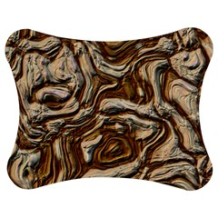 Fractal Background Mud Flow Jigsaw Puzzle Photo Stand (bow)