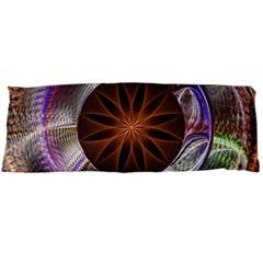Background Image With Hidden Fractal Flower Body Pillow Case Dakimakura (Two Sides)