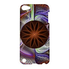Background Image With Hidden Fractal Flower Apple iPod Touch 5 Hardshell Case