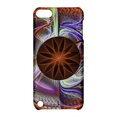 Background Image With Hidden Fractal Flower Apple iPod Touch 5 Hardshell Case with Stand